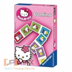 DOMINO HELLO KITTY RAVENSBURGER  +3