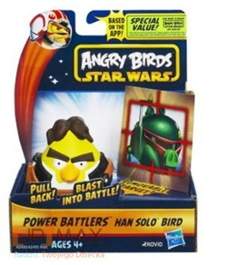 Figurka Angry Birds Star Wars Power Han Solo Oryg