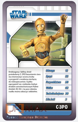 GRA KARCIANA TOP TRUMPS STAR WARS THE CLONE WARS