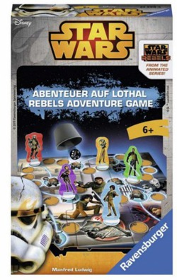 GRA STAR WARS REBELS ADVENTURE GAME RAVENSBURGER+6