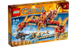 LEGO LEGENDS of CHIMA 70146 OGNISTA ŚWIĄTYNIA FENIKSA