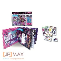 MONSTER HIGH ALBUM DO NAKLEJEK + 28 NAKLEJEK