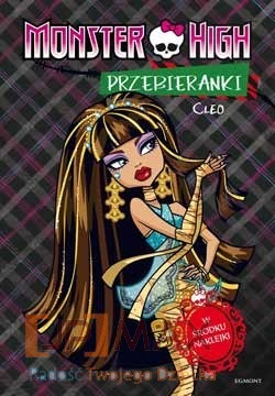 MONSTER HIGH PRZEBIERANKI CLEO DEUCE EGMONT