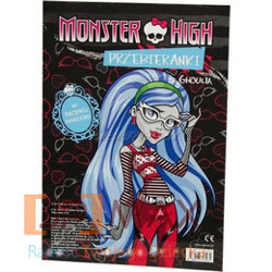 MONSTER HIGH PRZEBIERANKI FRANKIE GHOULIA EGMONT