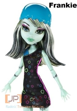 MONSTER HIGH UCZNIOWIE NA ROLKACH FRANKIE STEIN