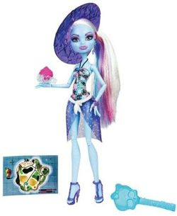 MONSTER HIGH UPIORNI PLAŻOWICZE ABEY BOMINABLE