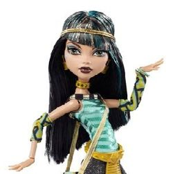 MONSTER HIGH UPIORNI UCZNIOWIE CLEO DE NILE