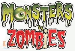 MONSTERS VS.ZOMBIES 28250 250EL. NAWIEDZONA KRYPTA