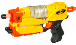 PISTOLET N-STRIKE SWITCH SHOT EX-3 NERF DO KONSOLI NINTENDO