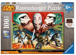 PUZZLE 100 ELE. XXL HEROES STAR WARS RAVENSBURGER