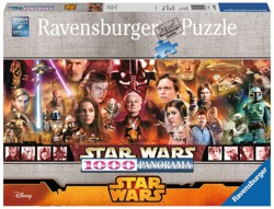 PUZZLE 1000 ELE. STAR WARS  PANORAMA RAVENSBURGER