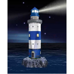 PUZZLE 3D 216 ELEMENTÓW LATARNIA NIGHT EDITION LED