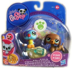 ZESTAW FIGUREK LITTLEST PET SHOP 1949 I 1950