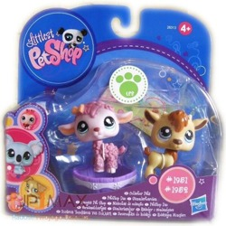 ZESTAW FIGUREK LITTLEST PET SHOP 1951 I 1952