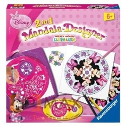 ZESTAW JUNIOR MANDALA-DESIGNER MINNIE RAVENSBURGER