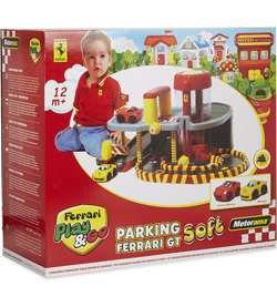 ZESTAW PARKING FERRARI GT SOFT PLAY&GO + AUTO