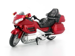 MOTOR WELLY HONDA GOLD WING CZERWONA