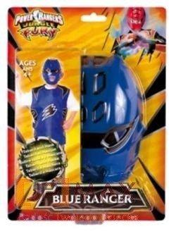 Kostium Z Filmu Power Rangers Niebieski Wojownik Dla Chłopca