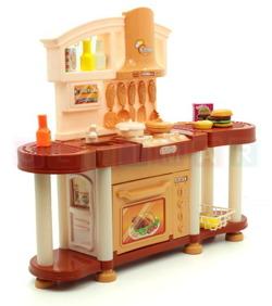 Ogromna Kuchnia Dla Dzieci Efekty Swietlne Dla Dziewczynki