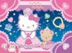 PUZZLE 104 EL.HELLO KITTY JEWELS PUZZLE CLEMENTONI
